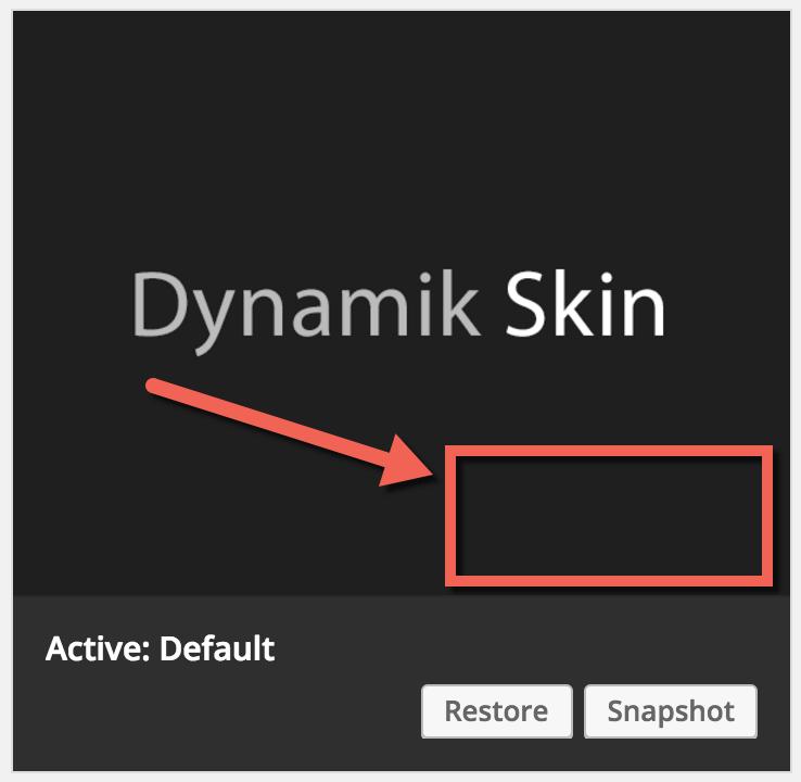 default-dynamik-skin-screenshot