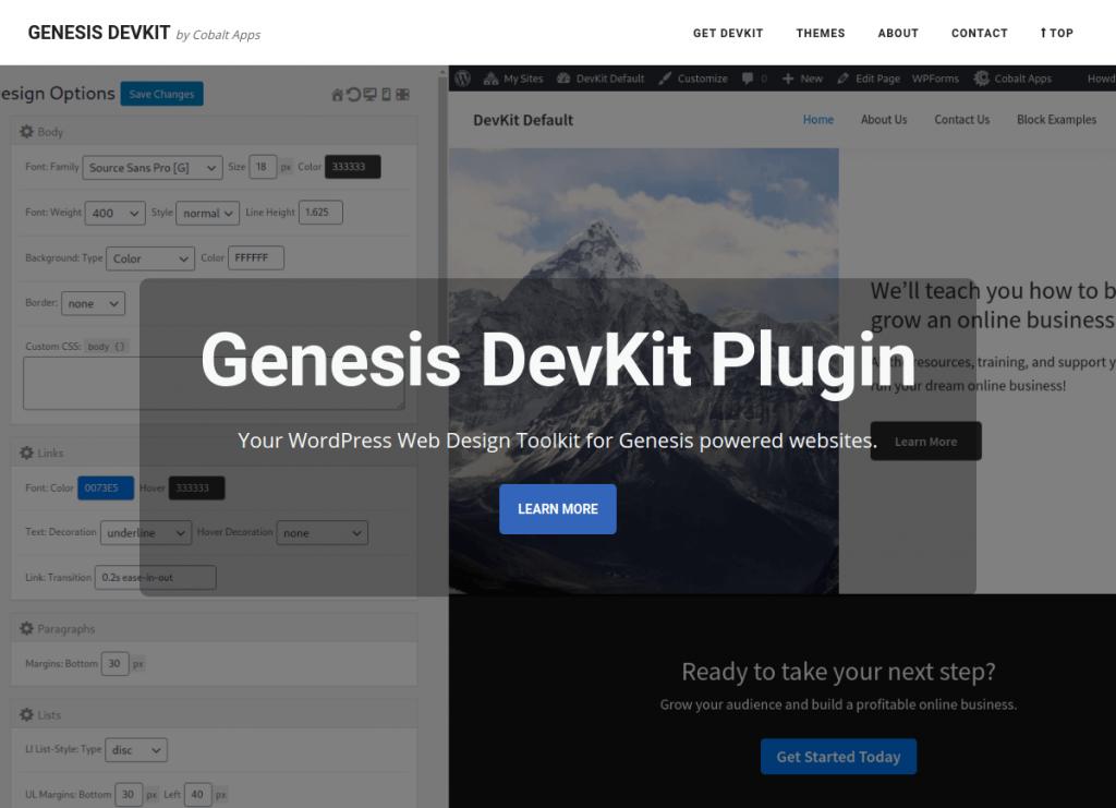 Genesis DevKit Website